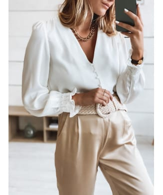 BLOUSE LAURINE BLANCHE
