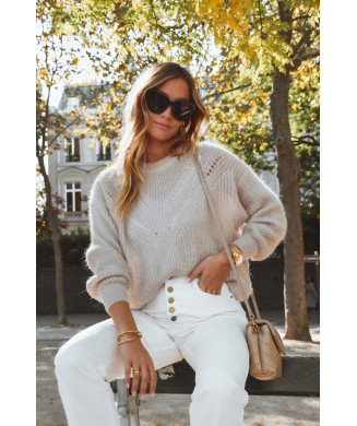 PULL CHARLES TAUPE